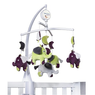 sauthon d co mobile musical babyfan made in b b. Black Bedroom Furniture Sets. Home Design Ideas