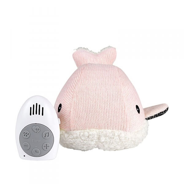 Peluche musicale Moby rose