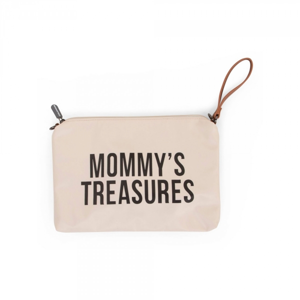 Pochette Mommy's Treasure Blanc cassé