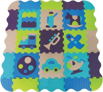 ludimousse tapis d 39 veil en mousse gar on made in b b. Black Bedroom Furniture Sets. Home Design Ideas
