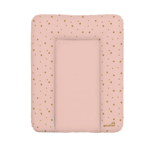 Matelas à langer Lilly Starry Night 52 x 72 cm - Rose
