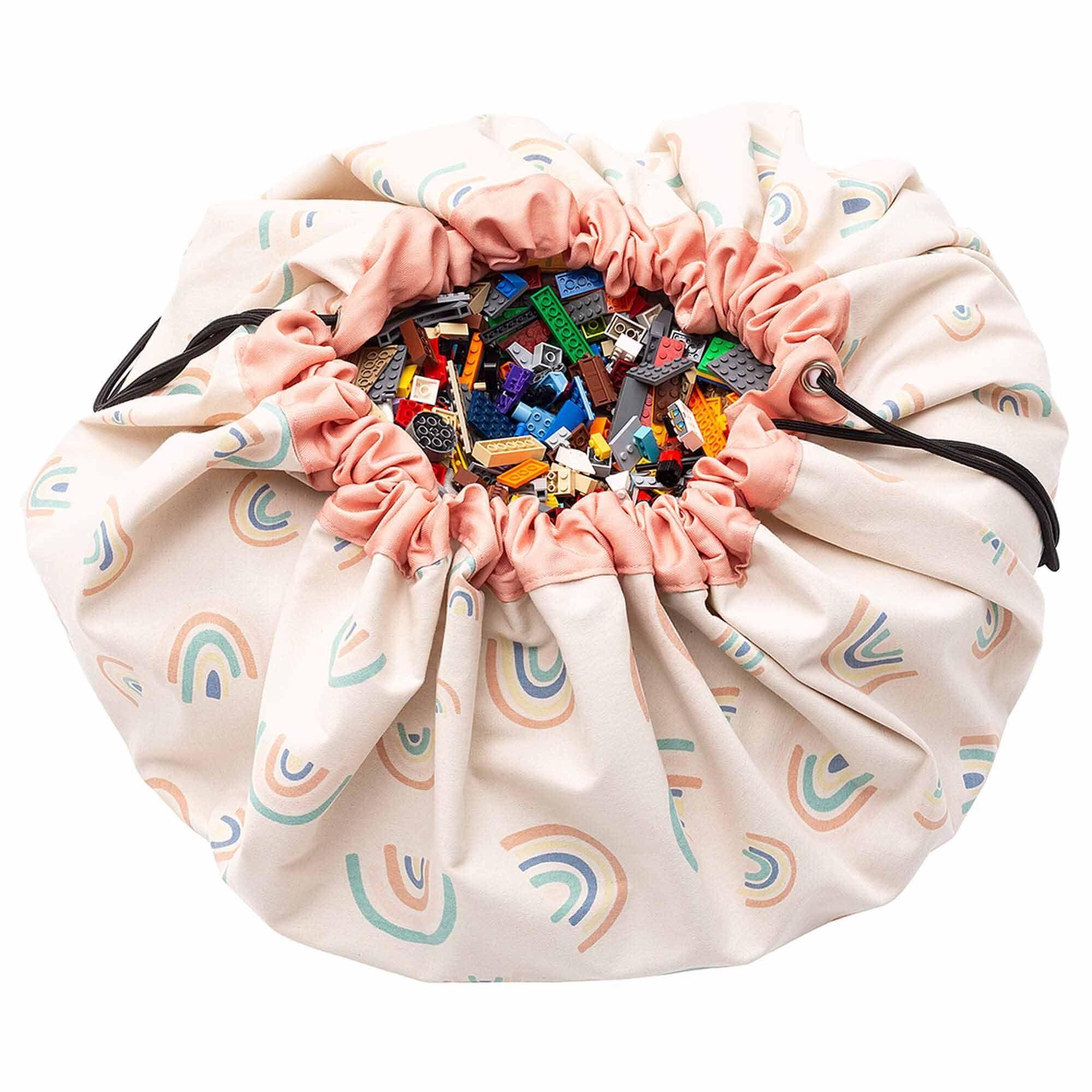 Grand sac à jouets 2 en 1 Rainbows