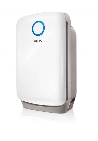 Purificateur et humidificateur d'air 2 en 1
