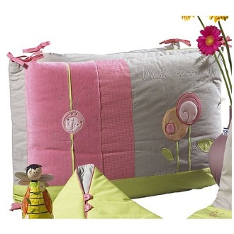 sauthon d co tour de lit maya made in b b. Black Bedroom Furniture Sets. Home Design Ideas