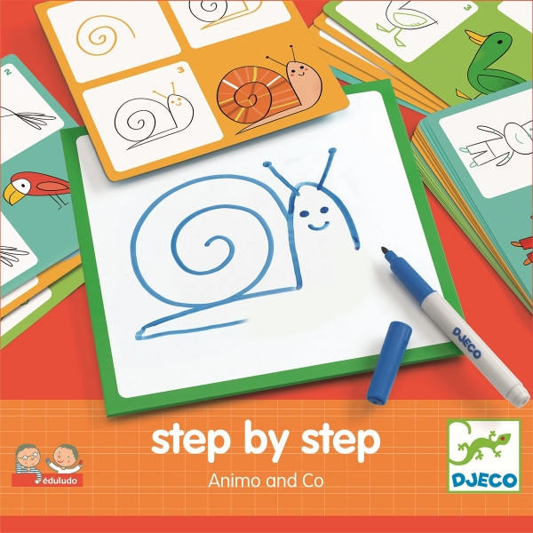 Eduludo Step by step Animals and Co