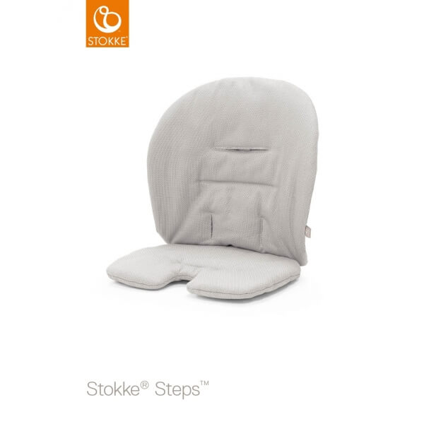 Coussin Steps Stokke Gris intemporel