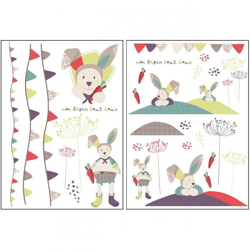 Sauthon Autocollants Stickers Decoratifs Tinoo Made In Bebe