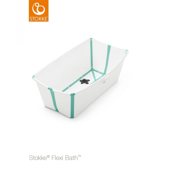stokke baignoire b b pliable flexibath blanc aqua made. Black Bedroom Furniture Sets. Home Design Ideas