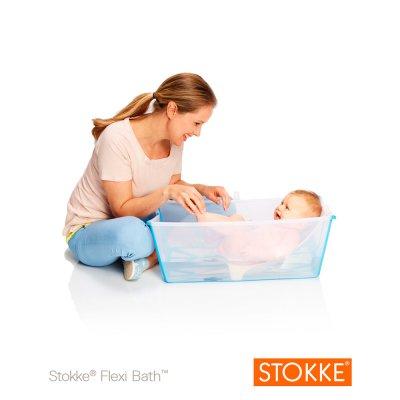 stokke baignoire b b pliable flexibath transparent made. Black Bedroom Furniture Sets. Home Design Ideas