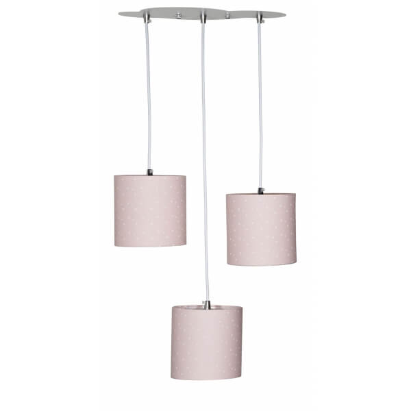 Suspension lumineuse trio Mila
