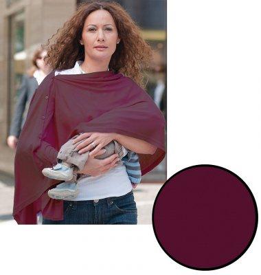 lassig echarpe d 39 allaitement allover bordeaux made in b b. Black Bedroom Furniture Sets. Home Design Ideas