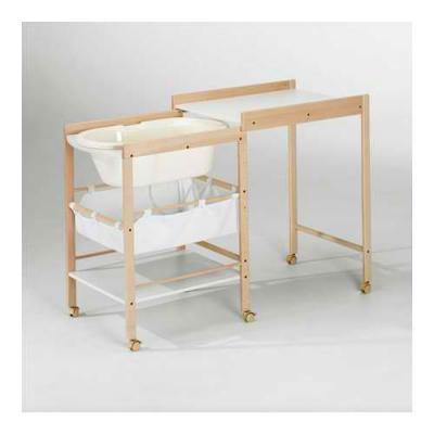 Geuther Table à Langer Naturel Avec Baignoire Hanna Made In Bébé