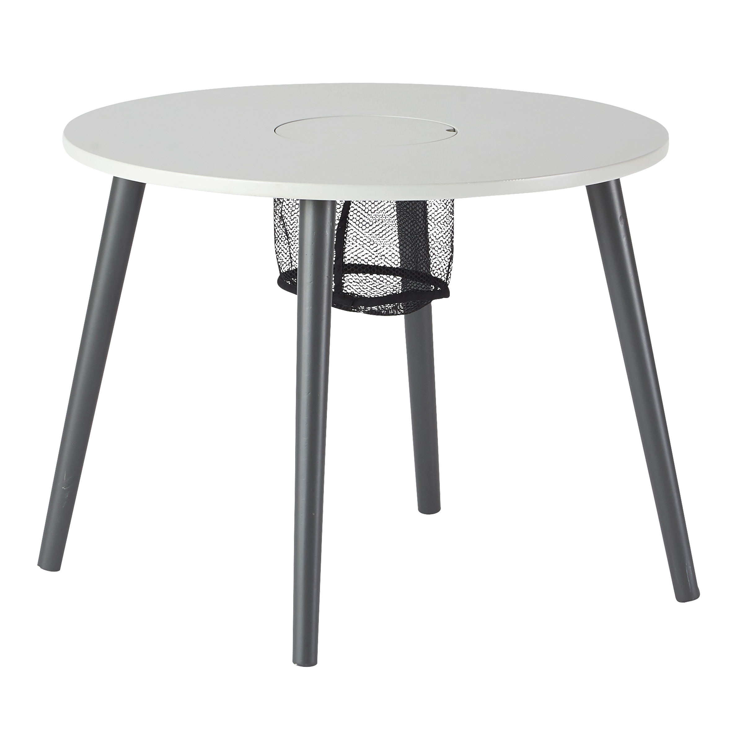 Done By Deer Table Ronde Pour Enfant Grise Made In Bebe