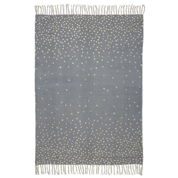 Done by deer Tapis chambre enfant 90 x 120 cm or & gris - Made In Bébé