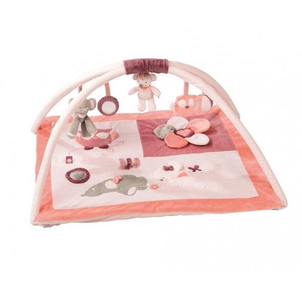 nattou tapis d 39 veil avec arches ad le valentine made. Black Bedroom Furniture Sets. Home Design Ideas