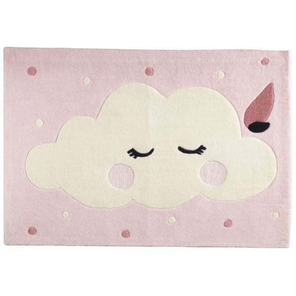 Tapis de chambre rectangulaire Miss Chipie