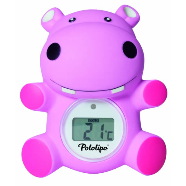 Visiomed thermom tre de bain digital pololipo rose made for Thermometre de chambre bebe