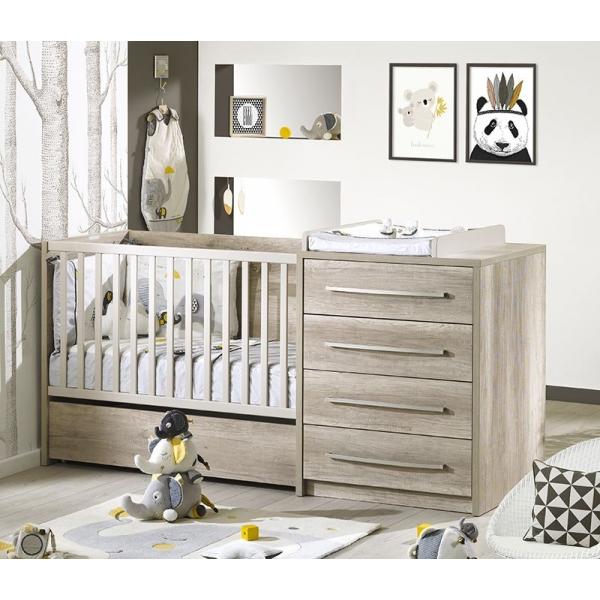 sauthon meubles tiroir lit combin volutif sur roulettes emmy made in b b. Black Bedroom Furniture Sets. Home Design Ideas
