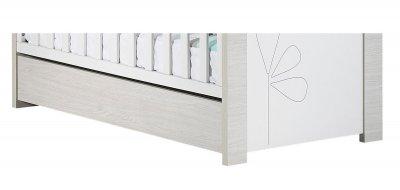 sauthon meubles tiroir de lit non transformable 60x120 opale made in b b. Black Bedroom Furniture Sets. Home Design Ideas