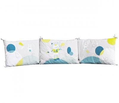 sauthon tour de lit lilibelle made in b b. Black Bedroom Furniture Sets. Home Design Ideas