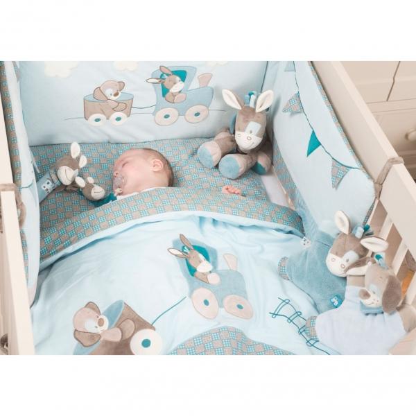 nattou tour de lit gaston & cyril - made in bébé