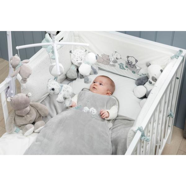 tour de lit bébé nattou Nattou Tour de lit Léa, Loulou & Hippolyte   Made In Bébé tour de lit bébé nattou