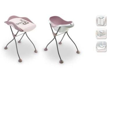 beaba trio cam l 39 o pieds poudr rose baignoire poudr. Black Bedroom Furniture Sets. Home Design Ideas