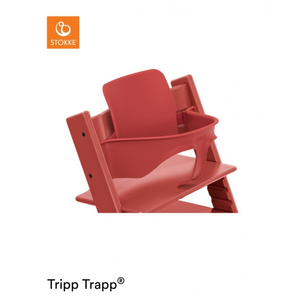 Kit Baby Set pour Tripp Trapp Warm Red