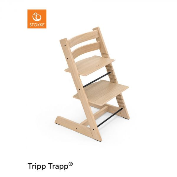 Stokke chaise haute b b tripp trapp ch ne blanc made in for Chaise tripp trapp