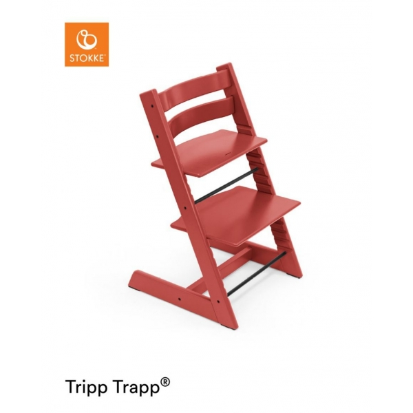 Chaise haute Tripp Trapp hêtre Warm Red