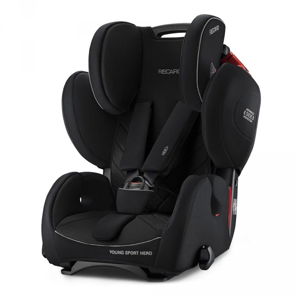 recaro si ge auto young sport hero performance black made in b b. Black Bedroom Furniture Sets. Home Design Ideas