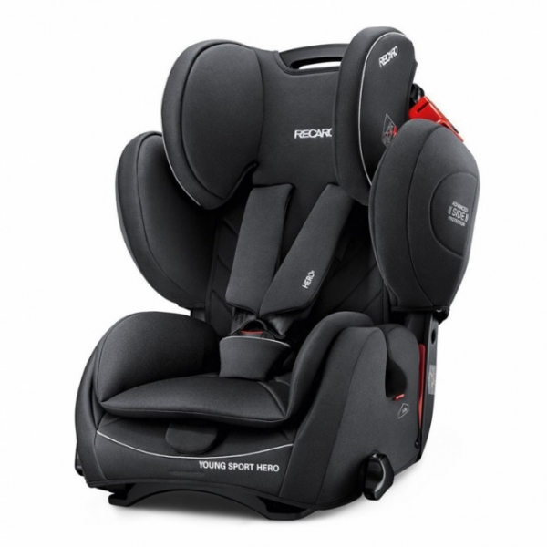 recaro si ge auto young sport hero performance black. Black Bedroom Furniture Sets. Home Design Ideas