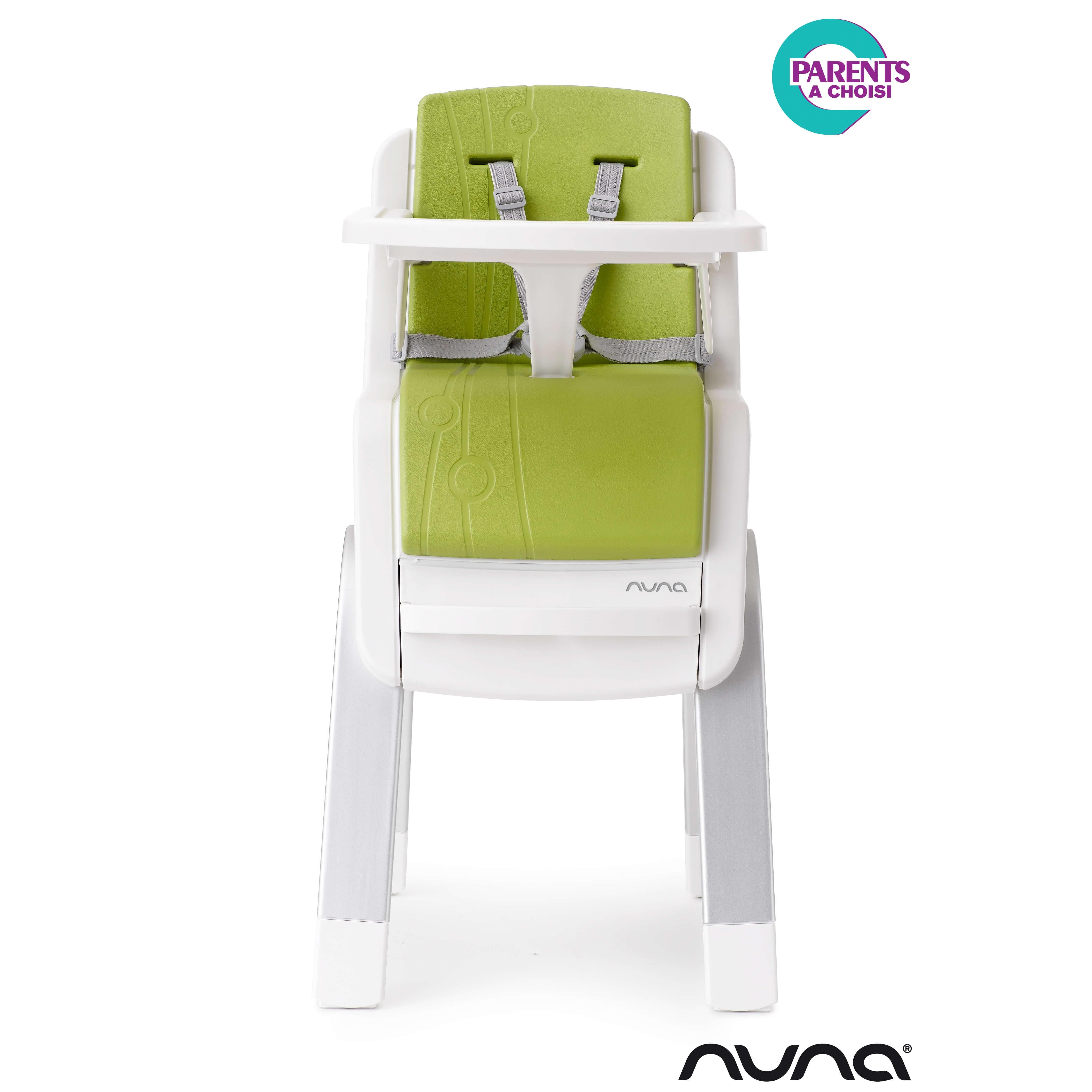 nuna chaise haute zaaz de nuna coloris citron vert made in b b. Black Bedroom Furniture Sets. Home Design Ideas